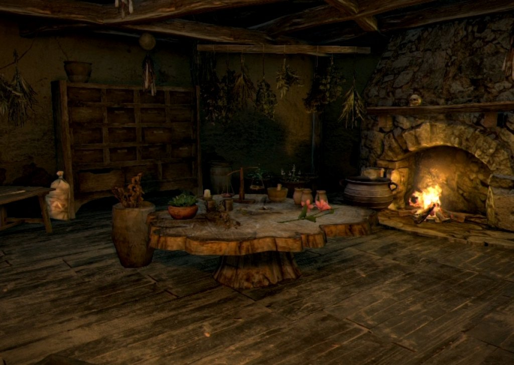 Night In The Witch S Cabin Audio Atmosphere